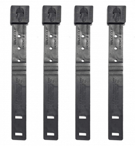 Tactical Tailor Malice Clips Short (Pack of 4) - Use these for MOLLE and PALS connection that won't come undone without a screwdriver.
