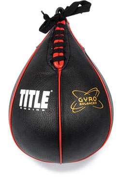 TITLE Boxing Gyro Balanced Speed Bag