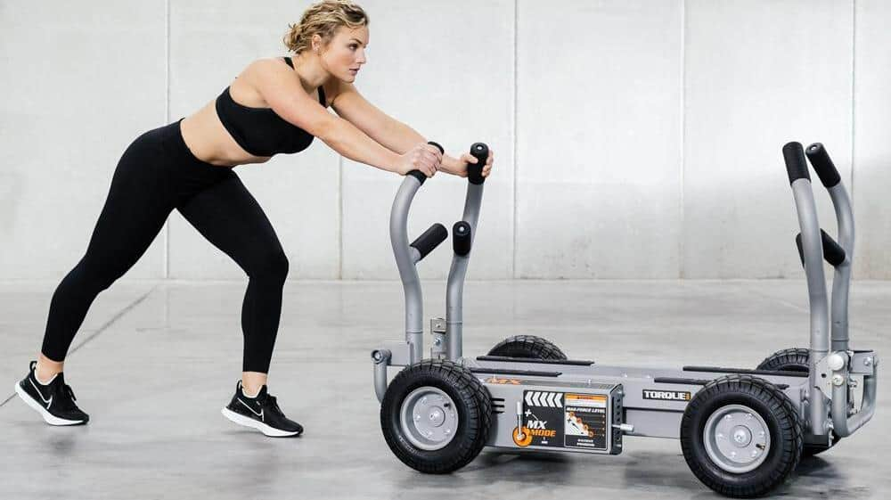 Torque Fitness Tank MX being pushed