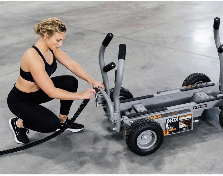 Torque Fitness Tank MX with a user 5