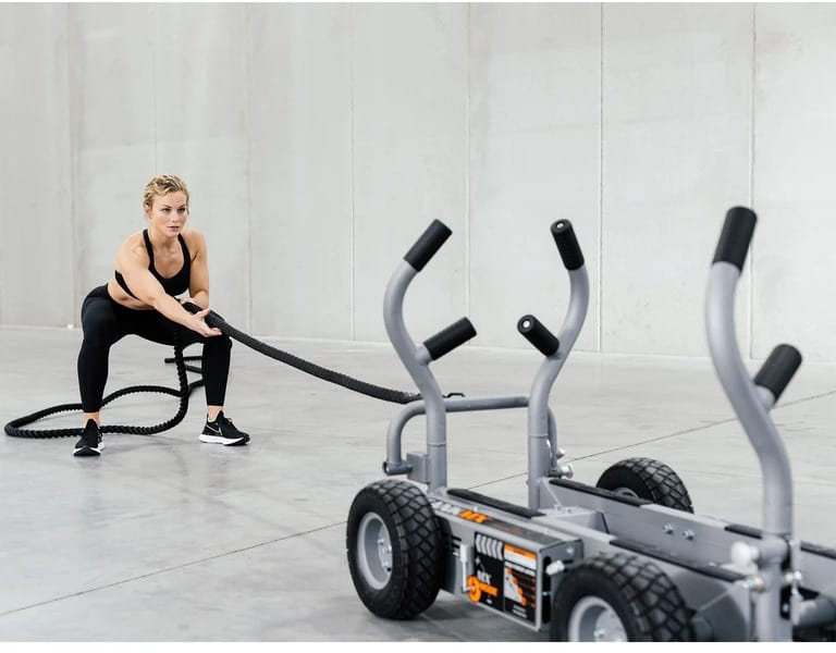 Torque Fitness Tank MX with a user 7