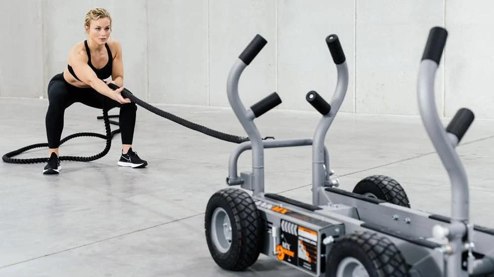 Torque Fitness Tank MX with a user