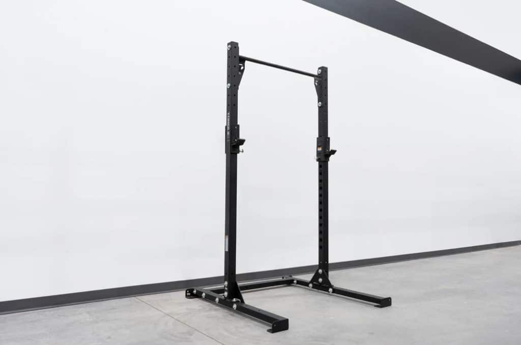 Torque USA High Squat Rack With Pull-Up Bar quarter view right