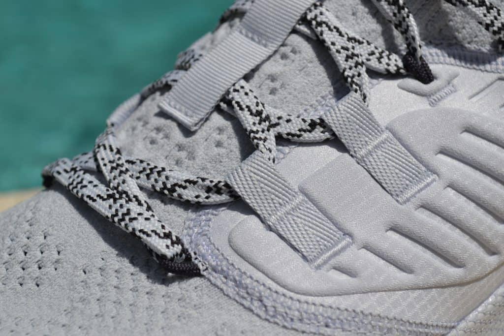 UA Project Rock 3 Training Shoe Laces Closeup 2