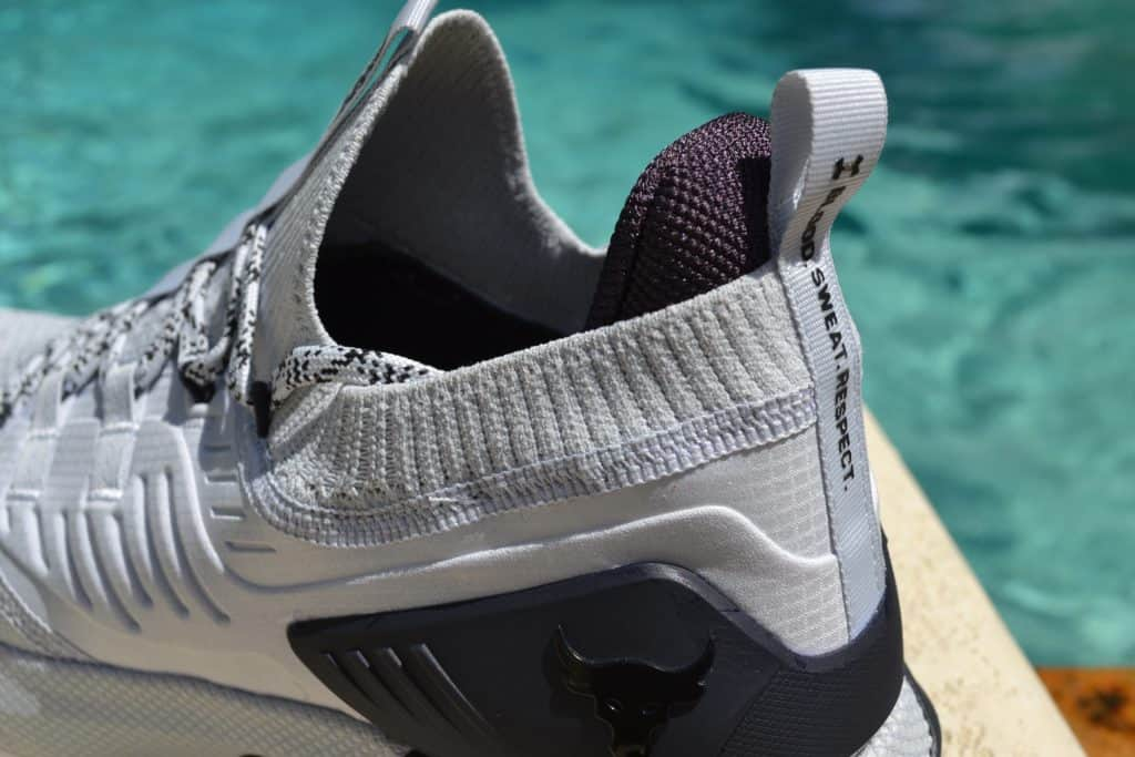 UA Project Rock 3 Training Shoe Pull Tab