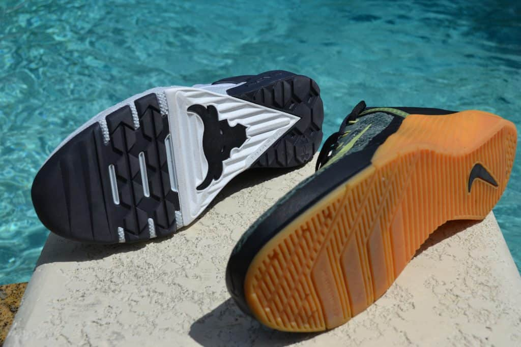 Project Rock 3 Versus Nike Metcon 6 - Sole to Sole