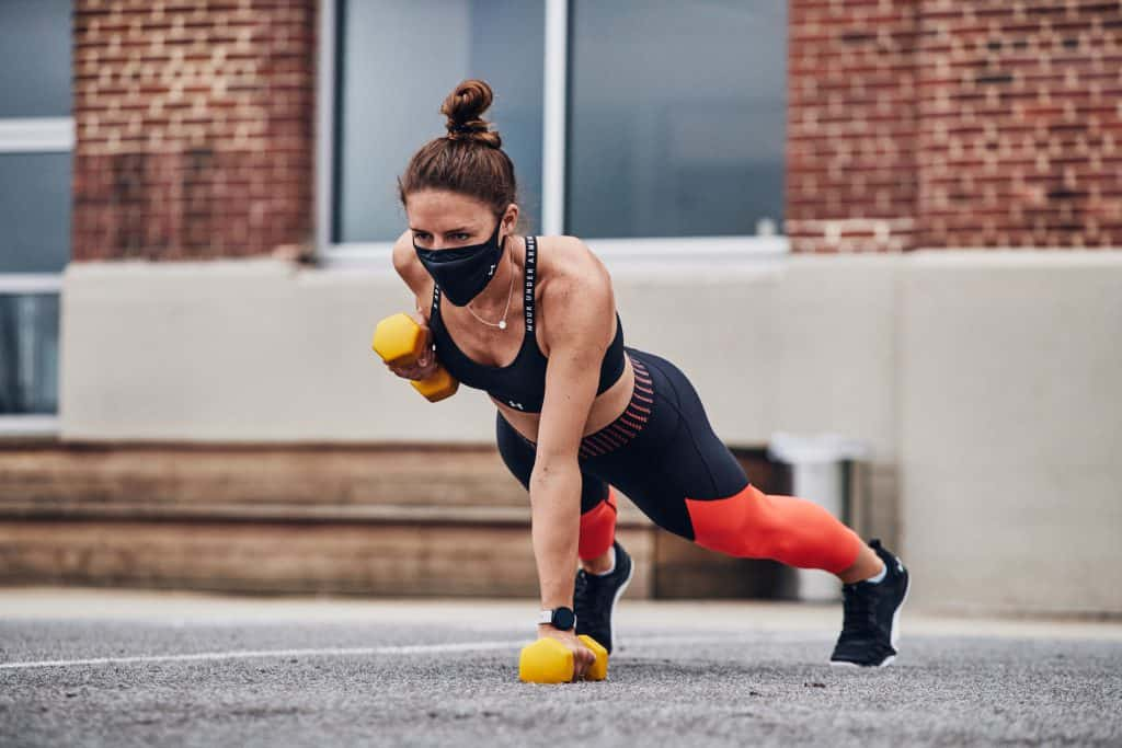 UA SPORTSMASK - best face mask for CrossFit and workouts.