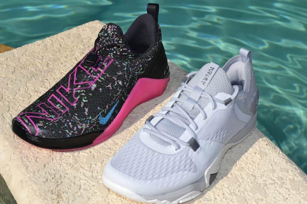 UA TriBase Reign 2 Versus Nike React Metcon AMP