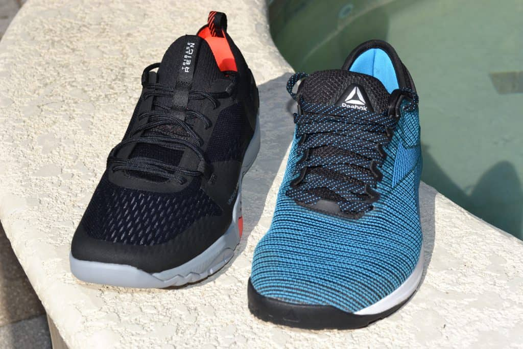 Reebok Nano 9 vs the Under Armour TriBase Reign 2 - new cross trainer from UA for 2020 - great for CrossFit!