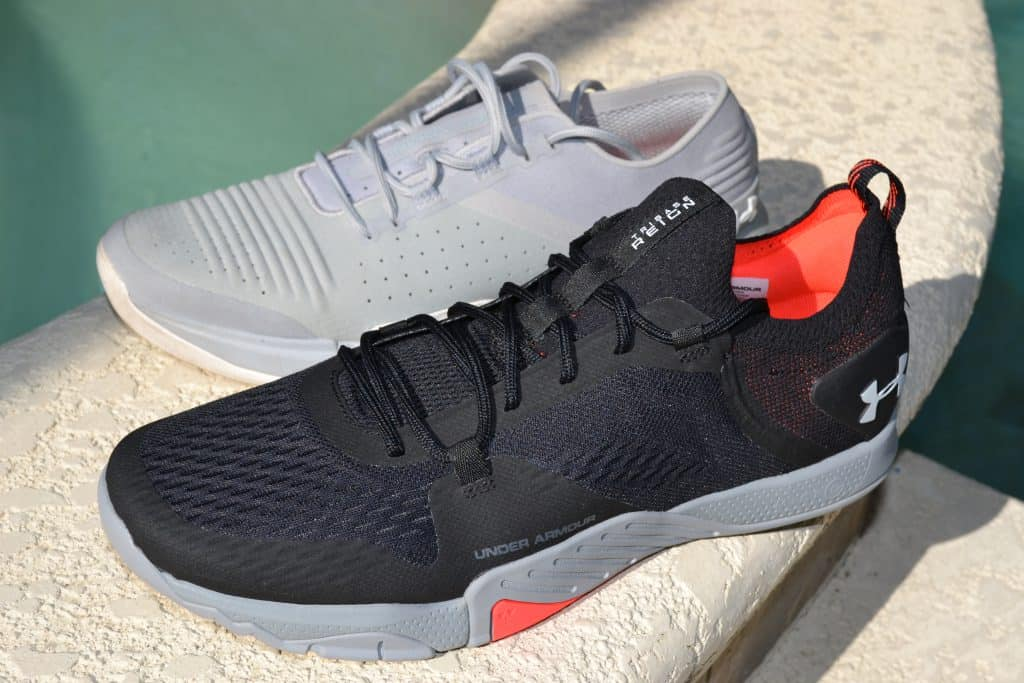 Original TriBase Reign shoe versus the Under Armour TriBase Reign 2 - new cross trainer from UA for 2020 - great for CrossFit!