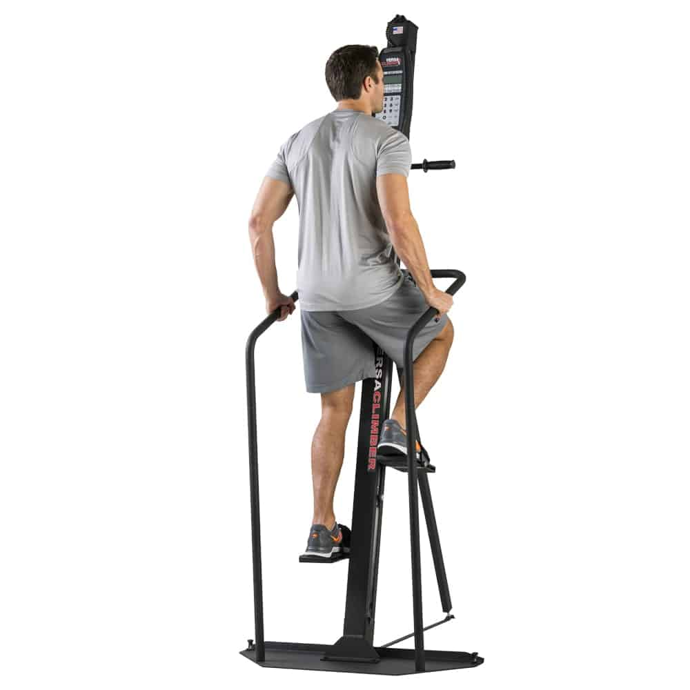 VersaClimber H/HP Using Rails for Stepper Only Workout