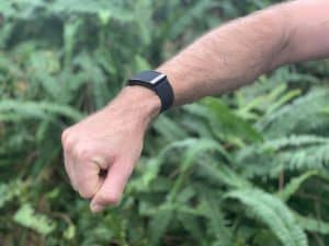 WHOOP Strap 3.0 Review - on the wrist 1