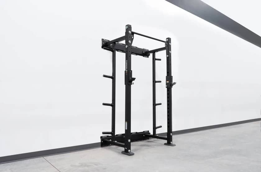 Wall-Mounted Squat Rack with Storage main