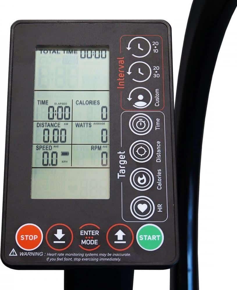 Xebex Air Bike Electronic Monitor