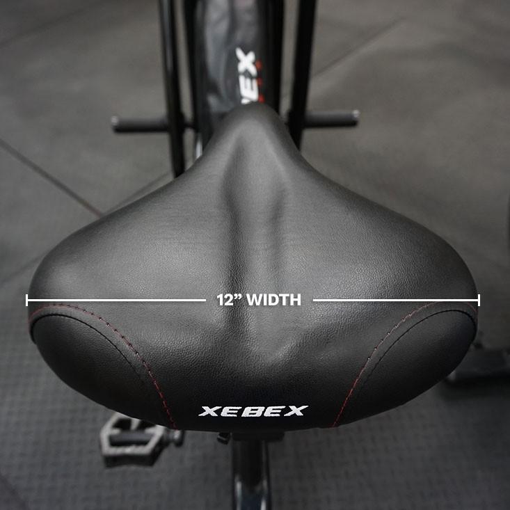 Xebex Air Bike Seat - Closeup 2