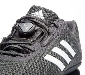 Adidas Leistung 16 II weightlifting shoe with Boa closure system.