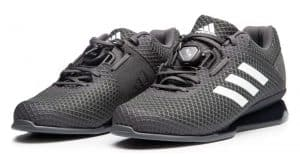 Adidas Leistung 16 II weightlifting shoes - From deadlifts to cleans, serious weightlifters need shoes that support their efforts to achieve maximum lifts. These weightlifting shoes have a mesh upper with a comfortable, glove-like fit that's easy to break in.