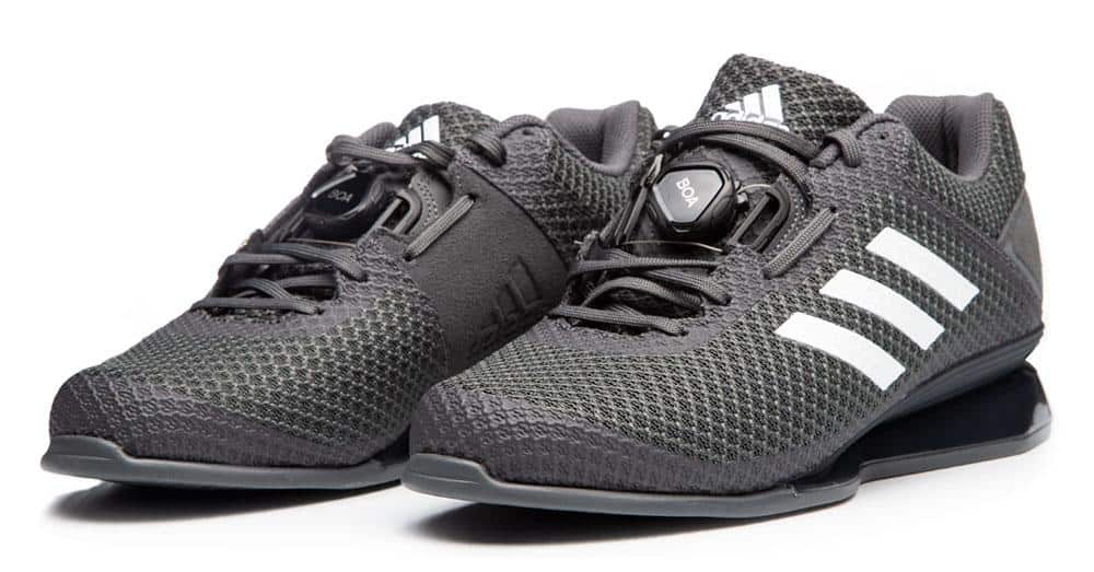 Adidas Leistung 16 II weightlifting shoes - From deadlifts to cleans, serious weightlifters need shoes that support their efforts to achieve maximum lifts. These weightlifting shoes have a mesh upper with a comfortable, glove-like fit that is easy to break in.