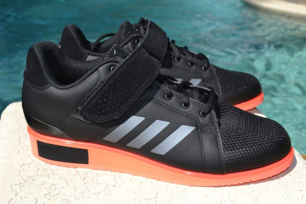 Adidas Power Perfect 3 Weightlifting Shoe - Side 1