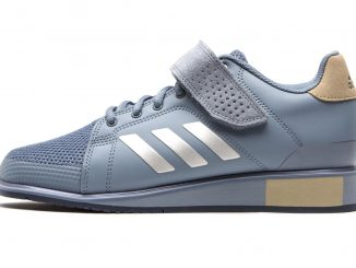 Adidas Power Perfect 3 Weightlifting Shoe - in Blue