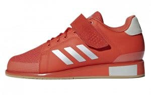 The Adidas Power Perfect 3 Weightlifting Shoe