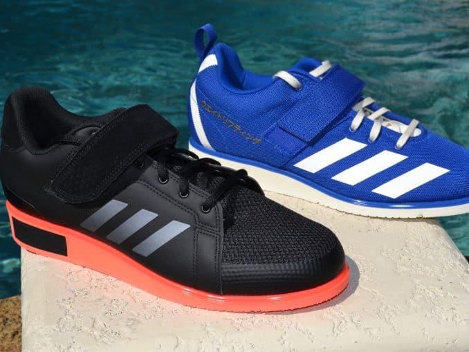 Adidas Power Perfect 3 Versus Adidas Powerlift 4 Shoes - side by side again
