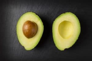 Avocado - low-carb, high in nutrients and healthy fats.