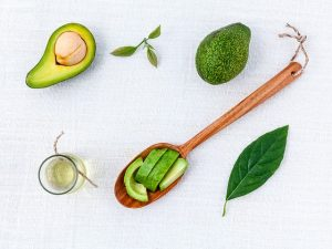 Avocado is a keto power food - low in carbs, high in monounsaturated fats and fiber.