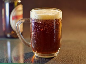 Beer - is a grain derived beverage with significant calories and alcohol