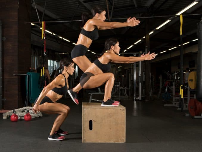 Box jumps required for CrossFit Open Workout 20.4