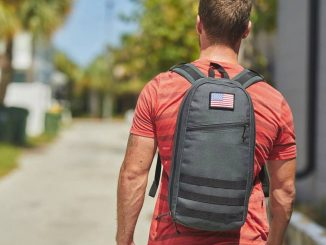 The GORUCK Bullet is a streamlined, 10L capacity dayruck - great for every day carry (EDC)