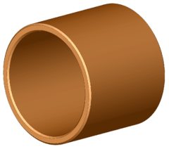 Bronze bushing - as used in a barbell