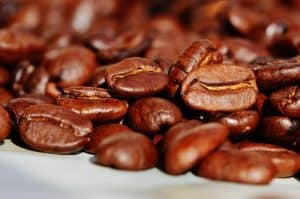 The coffee bean - container of caffeine - which has beneficial affects on alertness and energy levels