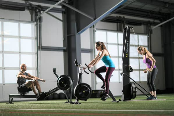 Concept2 BikeErg, Rower, and SkiErg