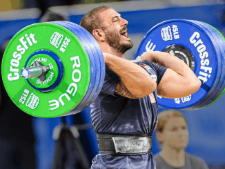 Mat Fraser at the CrossFit Games