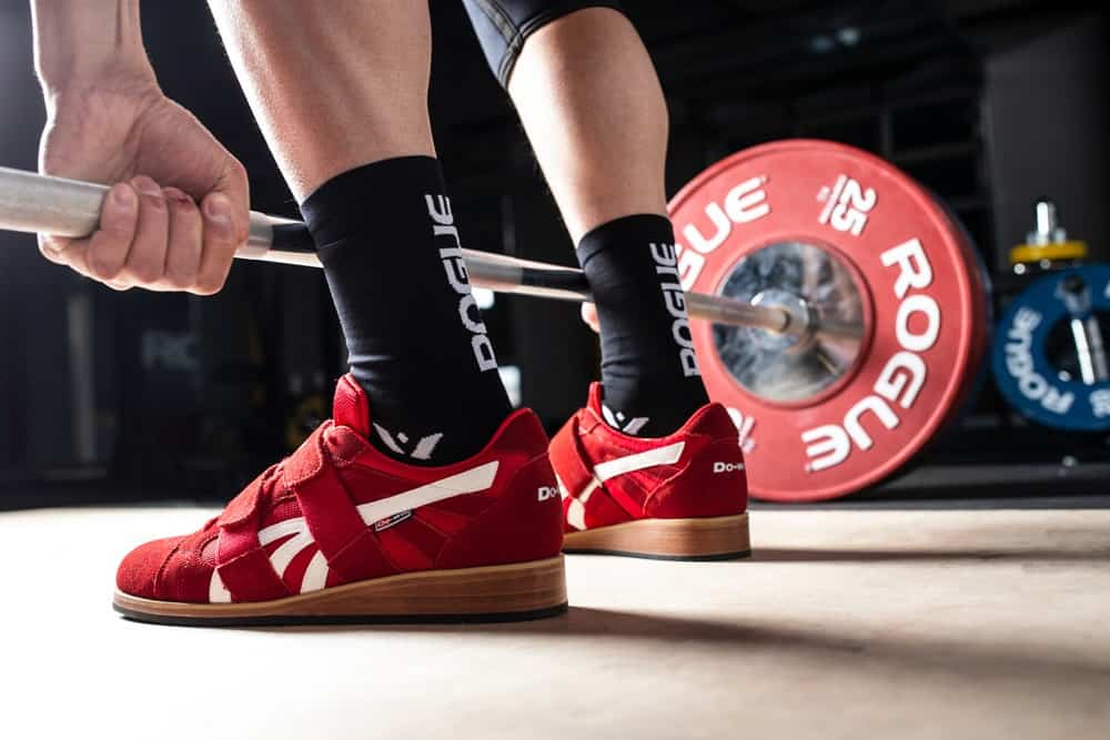 The Do-Win Classic Lifter from Rogue is a no-frills weightlifting shoe you can use for Olympic lifting and powerlifts.