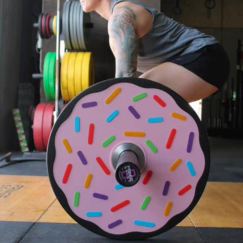 Fringe Sport Donut Bumper Plates