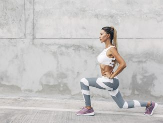 Body-weight exercises include lunges, and more