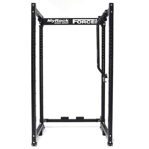 MyRack Folding Power Rack - Step 1 - drop the crossmember