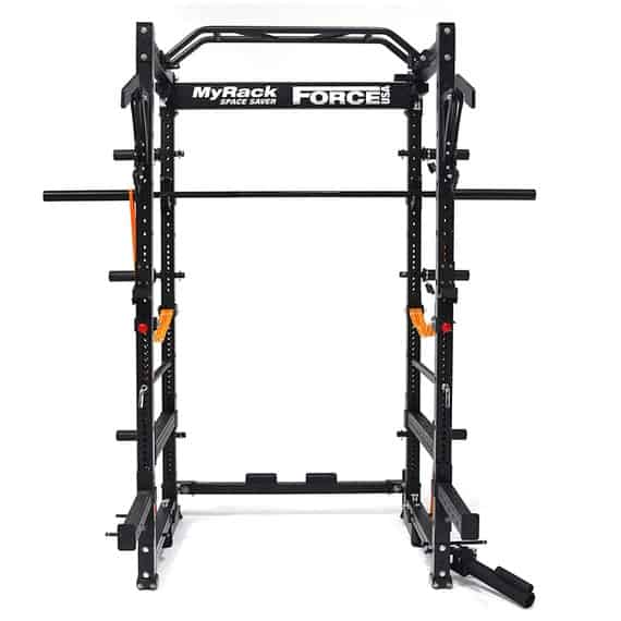 MyRack Folding Power Rack from Force USA - with optional accessories