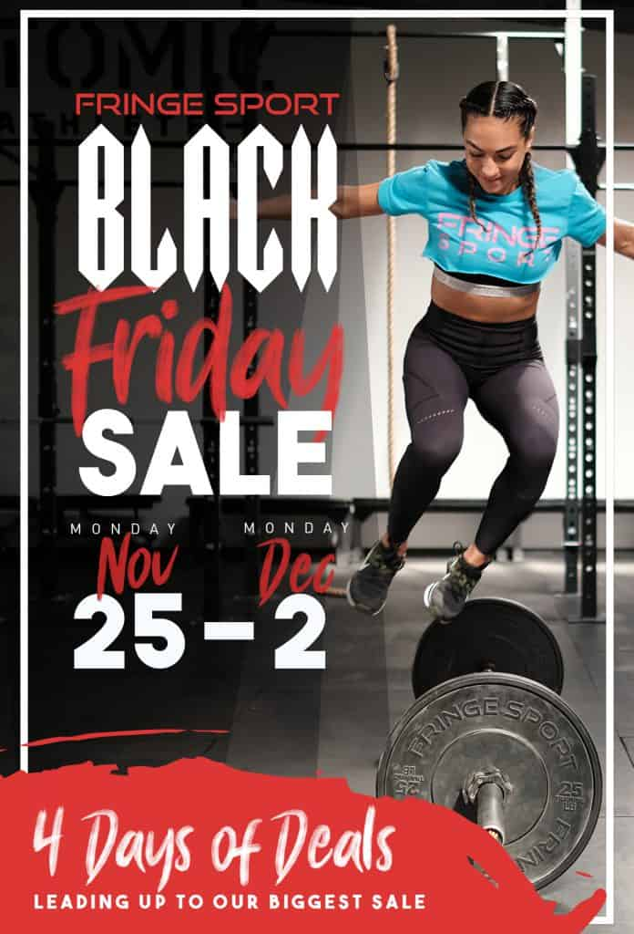 Fringe Sport Black Friday Sale 2019