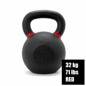 Fringe Sport Prime Kettlebell - Red - 32 kg