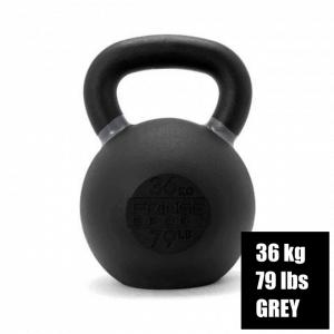Fringe Sport Kettlebell - 36 kg - Grey