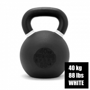 Fringe Sport Prime Kettlebell - 40 kg - White