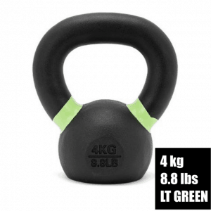 Fringe Sport Prime Kettlebell - 4kg - Light Green