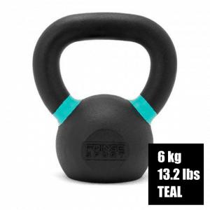 Fringe Sport Prime Kettlebell - 6kg - 13.2 lbs - Teal