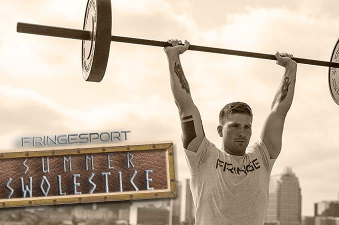 Fringe sport's Summer Swolestice sale will be July 16th - July 23rd, 2018 and will include some crazy steep discounts on great functional fitness equipment such as barbells, weights, and much, much more.