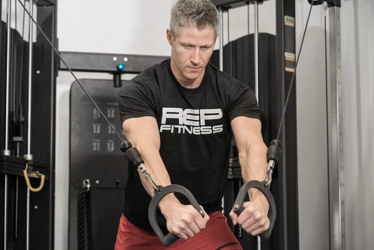 A functional trainer or cable machine can be used for multiplanar movements - work muscles and movements from any angle.