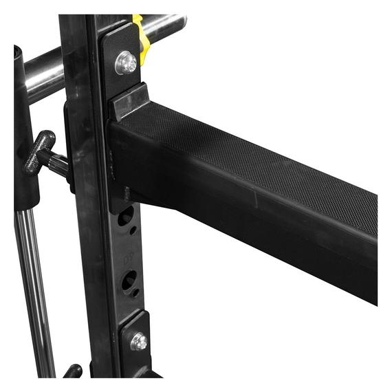 ForceUSA G6 rack is a full featured power rack - with spotter arms for safety.