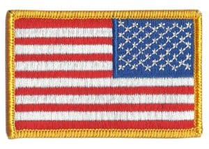 Reverse US Flag Patch - by Gadsden and Culpeper